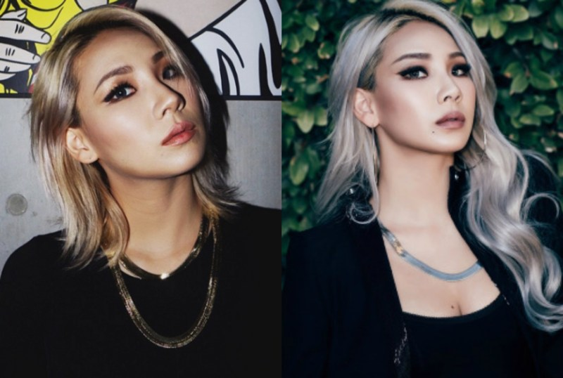 kpop girl group 2NE1 CL's haircut transformation kpop idol haircuts short vs long