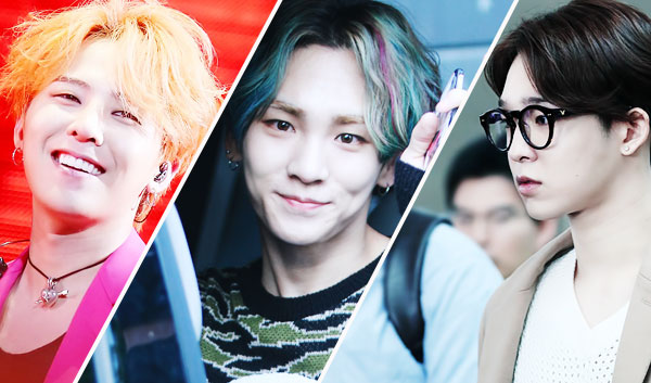 kpop korean kdrama boy bang group kpop guy hairstyles middle parts