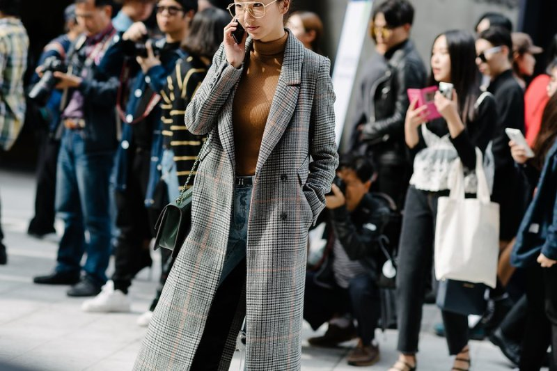 kpop idols korean models fall fashion week seoul street style business casual kpopstuff