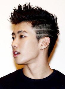 korean kpop rapper jay park short two block haircut for asian korean kpop hairstyles