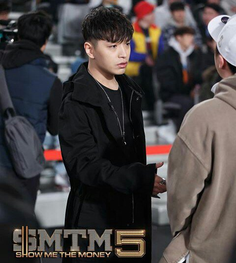 Korean kpop rapper smtm5 judge simon dominic simon d wet hairstyle and two block haircut for guys kpopstuff