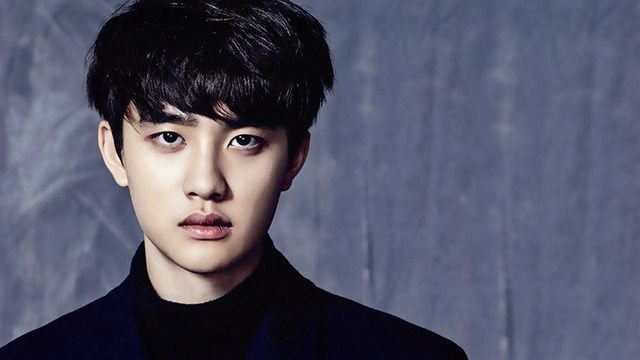 Korean kpop idol boy group band EXO do kyungsoo D.O natural black hairstyles for guys kpopstuff