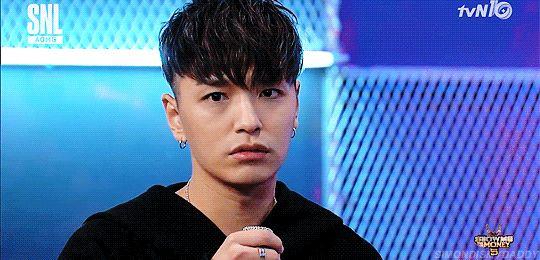 Simon D korean rapper simon dominic wet hair and smtm5 two block haircut for guys kpopstuff