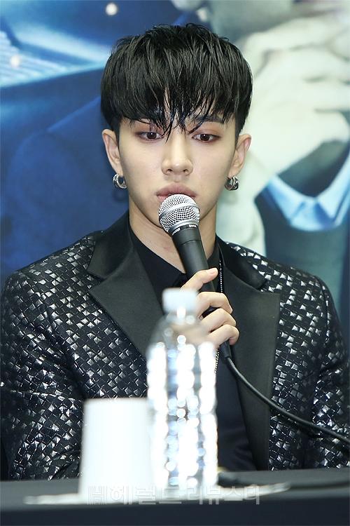 kpop idol korean kdrama actor beast B2ST member gikwang wet hair trend hairstyles for guys boys kpopstuff