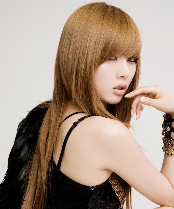 Hairstyle Girl Korea: HYUNA'S HAIR THROUGH THE YEARS