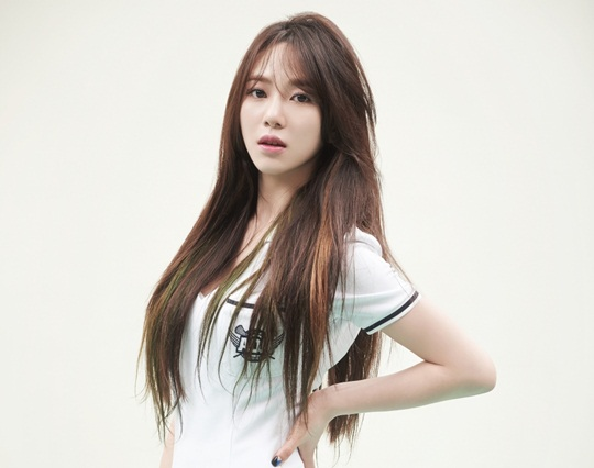 kpop idol girl group aoa AOA mina straight long hair hairstyles for girls kpopstuff