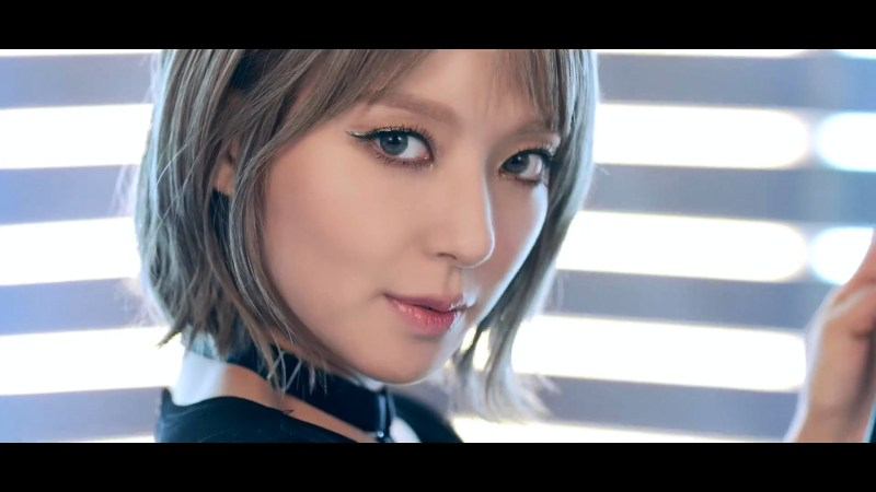 korea korean kpop idol girl band group aoa choa's new lob hair grown short haircut hairstyles for girls metallic kpopstuff