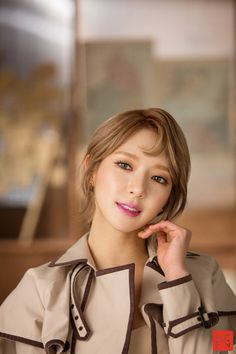 korea korean kpop idol girl group band aoa choa's new lob hair excuse me comma hair trend hairstyles for girls kpopstuff