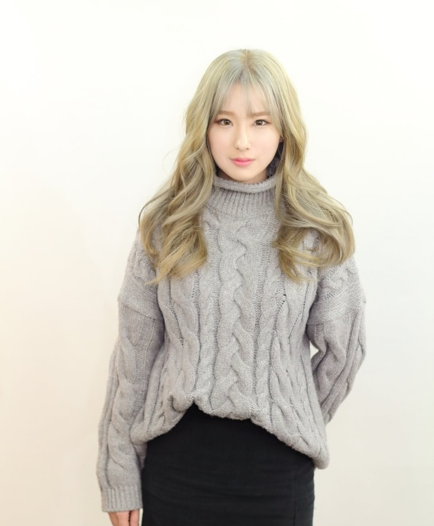 korea korean kpop idol girl group band how to kpopstar tutorial ash grey gray brown blonde hair color dye hairstyles wavy curly for girls kpopstuff