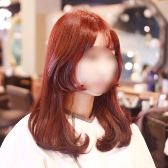 Women S Two Block Haircut For Long Hair Kpop Korean Hair
