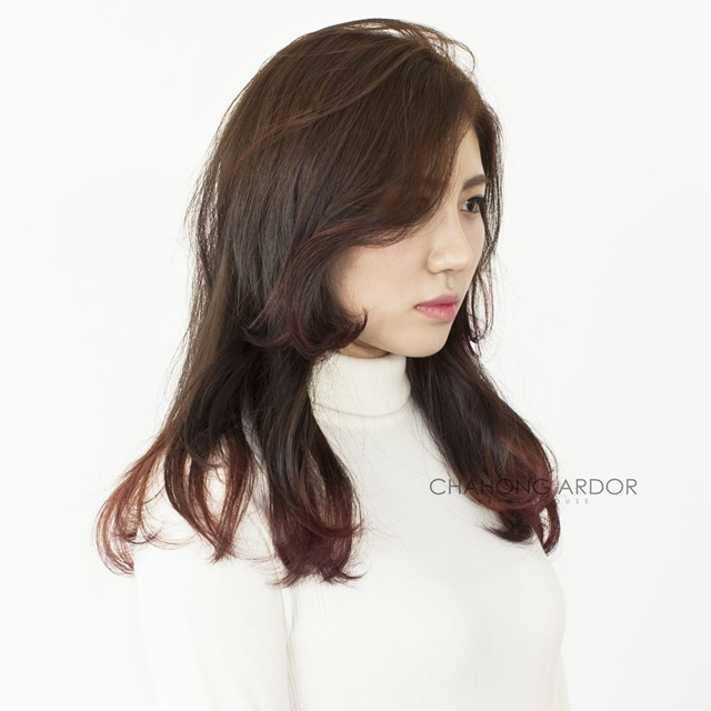 WOMEN'S TWO BLOCK HAIRCUT for LONG HAIR - Kpop Korean Hair ...