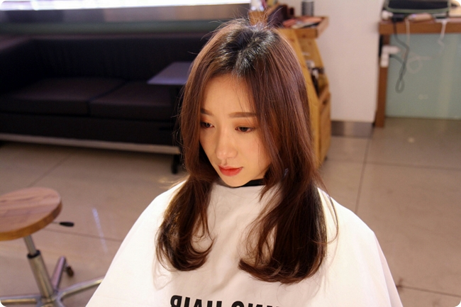 korean long hair style s two block haircut for hair kpop korean hair 4101 | korea korean kpop idol actress womens two block haircut layered haircuts for girls kpopstuff
