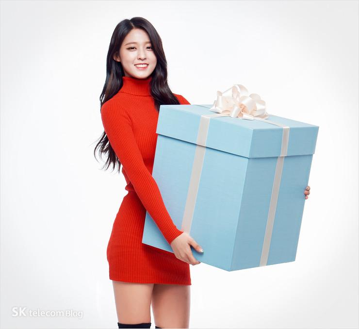 korea korean kpop idol girl band group aoa seolhyun's dress fashion red dress outfit style for girls kpopstuff main