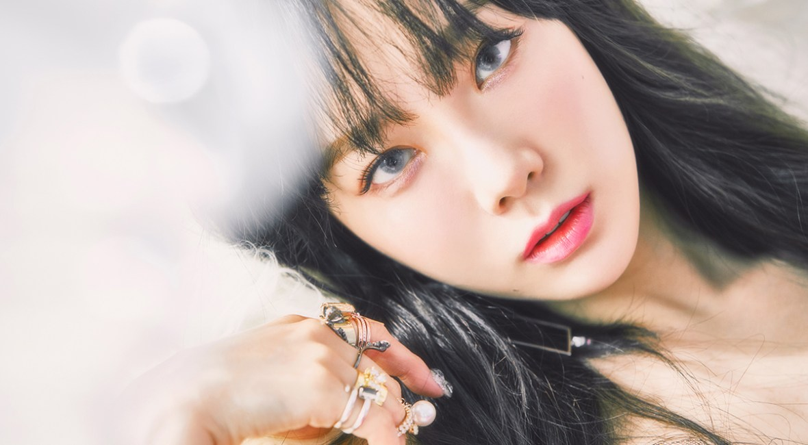 korea korean kpop idol girl band group girl's generation snsd taeyeon's hairstyles for i got love comeback black bangs wavy hair hairstyles for girls kpopstuff mai