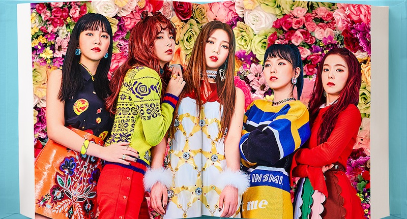 korea korean kpop idol girl group band red velvet rookie hair hairstyles for girls kpopstuff