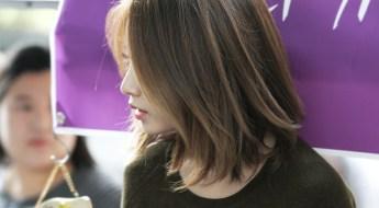 korea korean kpop idol girl group band tara t-ara jiyeon's lob hairstyle layered highlighted short bob hair hairstyles for girls kpopstuff
