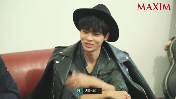 korea korean kpop idol boy band group vixx fedora fashion n maxim interview black hat leather streetwear outfit styles for guys kpopstuff