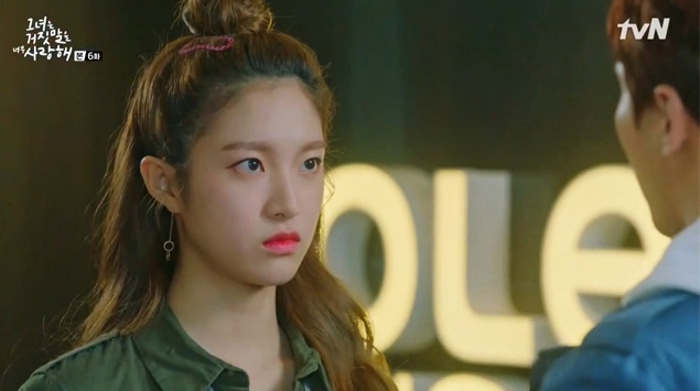 korea korean idol drama kdrama lovely love lie 'liar and his lover' lee ha eun's hair looks half updo bun fun hairstyles girls women kpopstuff