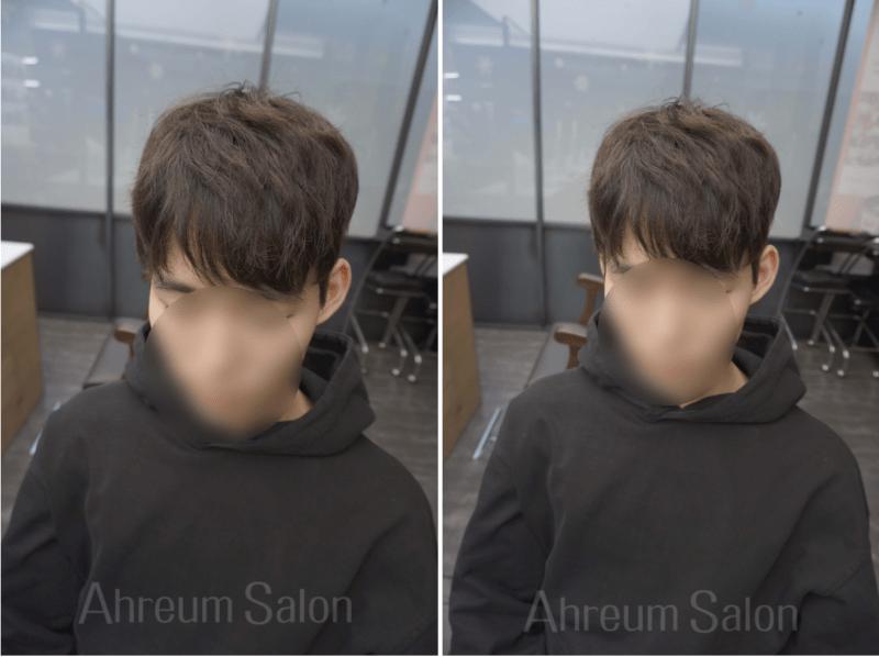 korea korean kpop idol boy band group zea park hyung sik's do bong soon hairstyle parting perm natural hair mens guys kpopstuff salon