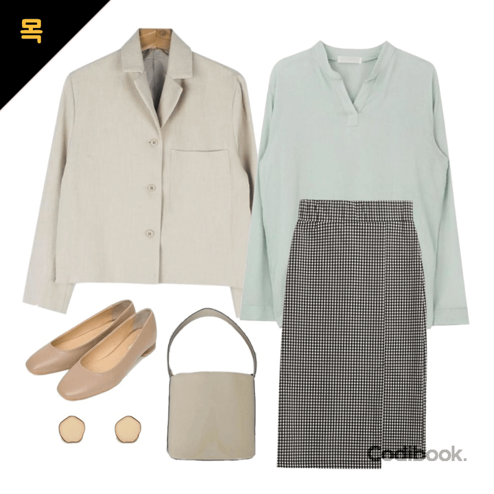 korea korean kpop idol girl group band kdrama actress outfit ideas for april thursday office looks skirt blouse jacket fashion style for girls kpopstuff
