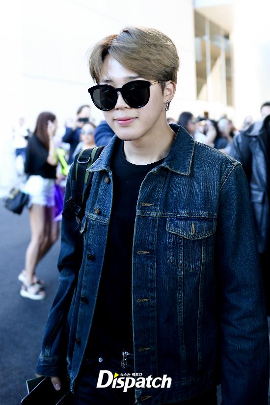 korea korean kpop idol boy band group bts bbma airport fashion bangtan boys jimin billboard las vegas outfits guys men kpopstuff denim