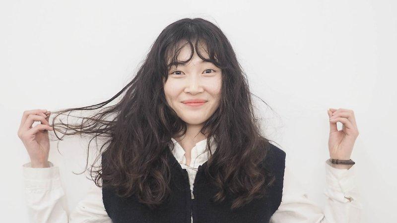 korea korean kpop idol girl group band fx sulli's hippie perm hair looks curly wavy voluminous hairstyle girls women kpopstuff