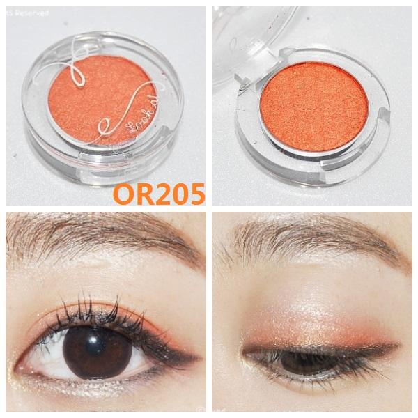 Etude House Look At My Eye Color Burning Orange-OR205