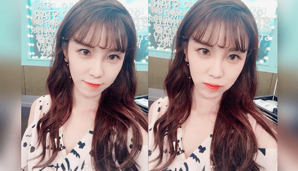 korea korean kpop idol girl band group secret hyoseong see through bangs styling tips curl permed bang hairstyles girls women kpopstuff