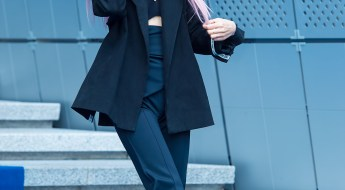 korea korean kpop idol girl group band kdrama actress hwang seung un's two tone hair pink pastel dip dyed ends colorful chic hairstyles girls women kpopstuff