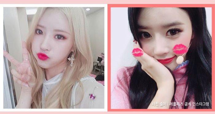 korea korean kpop idol girl group band lovelyz mijoo black color darkers kpop hair looks winter trends hairstyles women girls kpopstuff