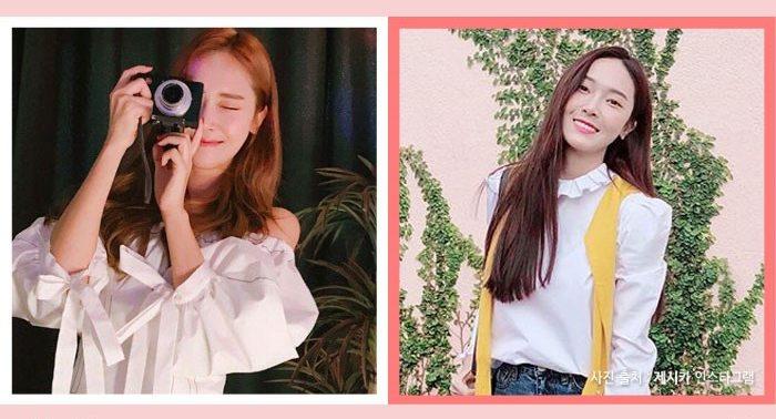 korea korean kpop idol girl group band snsd jessica choco brown darker kpop hair looks winter trends hairstyles girls women kpopstuff