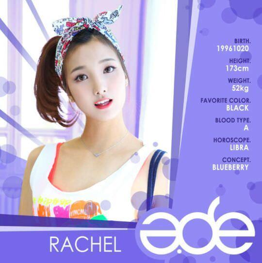 Thông tin thành viên Rachel- A.DE
