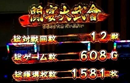 初打ち魁!!男塾 大豪院邪鬼 も江田平八も出現で設定6濃厚、押忍