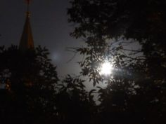 moon & church