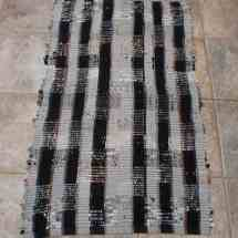 rug rag black, grey 16.02, 04