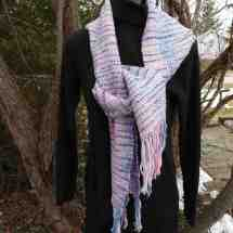 scarf pink, blues 16.32