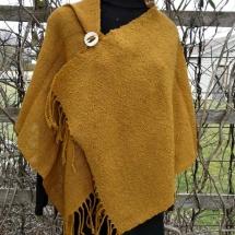 shawl sewn mustard 16.13
