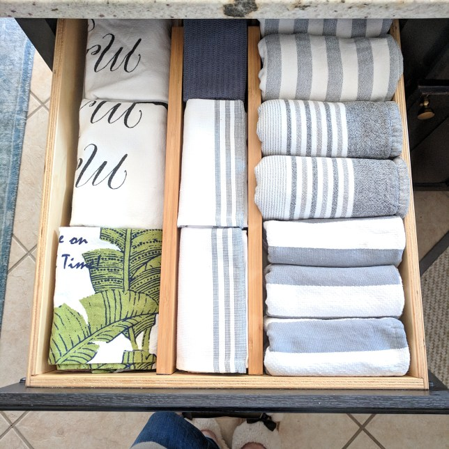 Kitchen Towel Drawer