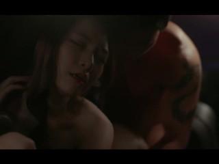 韓国女優の濡れ場5