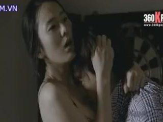 韓国女優の濡れ場55