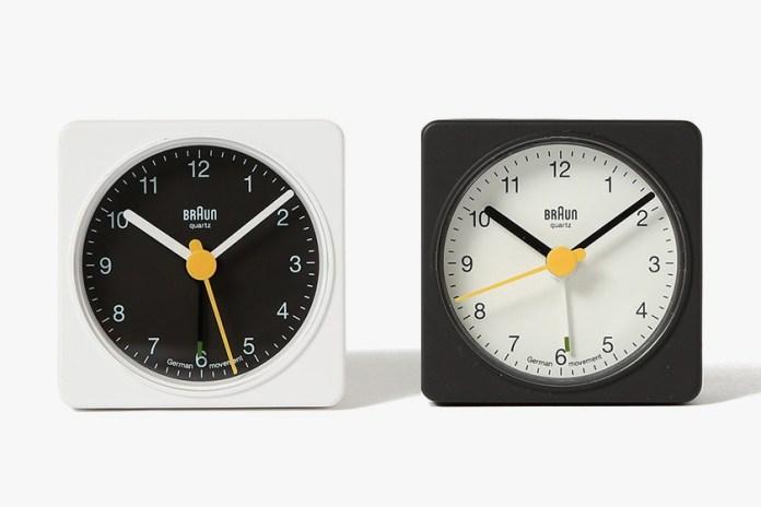 빔즈 x 브라운 BNC002 아날로그형 시계