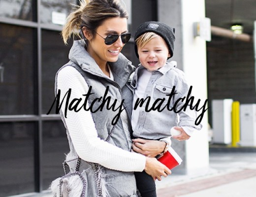 looks matchy matchy madre e hijo con calzado outlet infantil