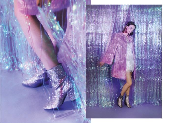nueva coleccion botines brilli brilli grises krack core starlight purpurina