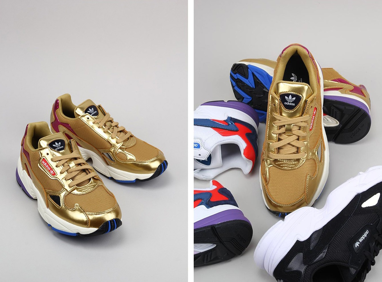 Adidas Falcon W | New in </p>                     </div>   <!--bof Product URL --> <!--eof Product URL --> <!--bof Quantity Discounts table --> <!--eof Quantity Discounts table --> </div>                        </dd> <dt class=