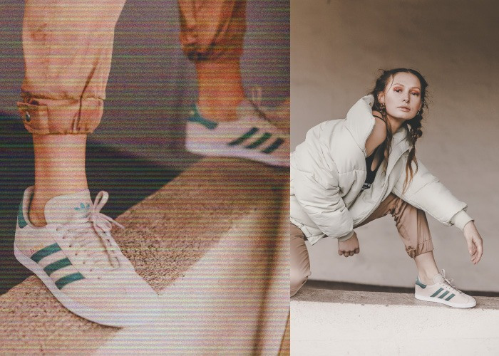 nueva colección de deportivas retro de mujer adidas gazelle gris