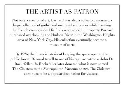 The Artist as Patron