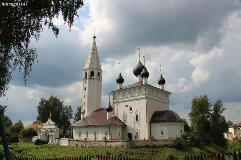 Вятское. Церковь Воскресения Христова, 1750 г.