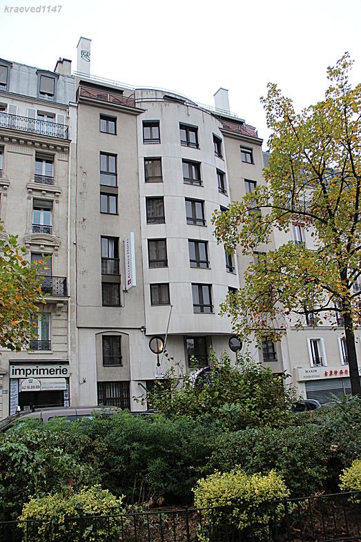 """Париж. Отель """"Тимотель"""" (""""Timhotel Place d' Italie"""")"""