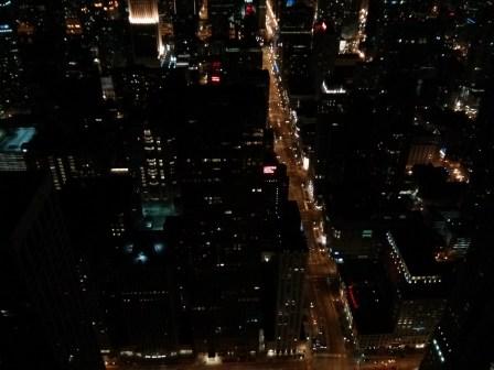 96 floors down...