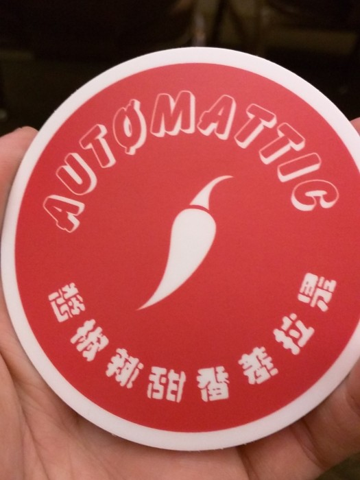 Automattic Pepper Club decal